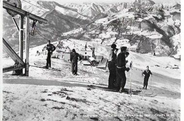 1953 Conca Monte Farno campo da sci