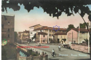 Fotografia Vecchia Piazza Marconi Brignano Gera d'Adda