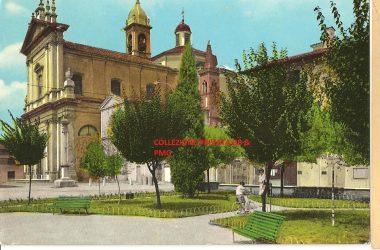 Piazza Nassiria Anni 70 Brignano Gera d'Adda