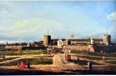 Vecchia immagine Castello sforzesco Brignano Gera d'Adda