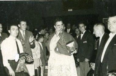 1955 Inaugurazione cinema centrale Leffe
