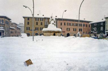 !985 Nevicata Trescore Balneario Bergamo