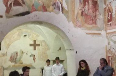 Affreschi Chiesa Santa Caterina Almenno San Bartolomeo