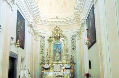 Altare Ambivere Santuario della Madonna del Castello