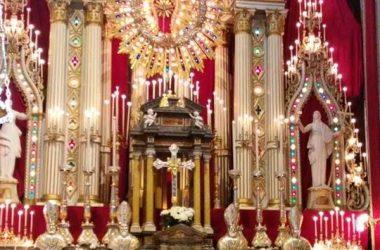 Altare Chiesa Almenno San Bartolomeo