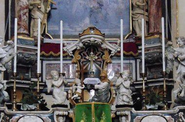 Altare Chiesa Parrocchiale Rovetta