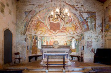 Altare Chiesa di San Giorgio in Campis Zandobbio