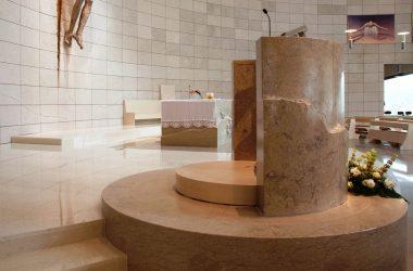 Altare Marmo Chiesa di Sant′Alessandro - Grassobbio