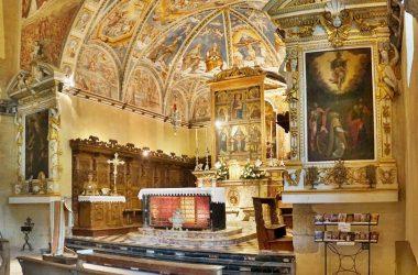Altare Santuario Trinità Casnigo