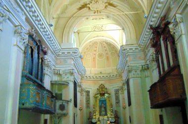 Ambivere Interno Santuario della Madonna del Castello