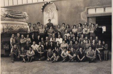 Anno 1951 operai e operaie di SIMU Gandino