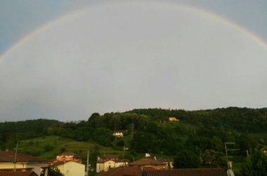 Arcobaleno a Villa di Serio