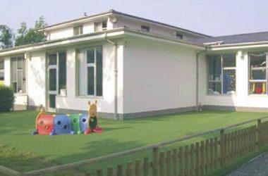 Area esterna Asilo Infantile - Gandino