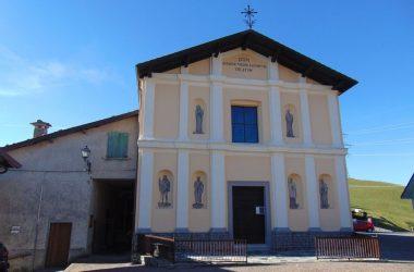 Aviatico località Ganda Bergamo La chiesa parrocchiale di santa Maria Assunta