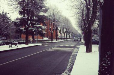 Azzano San Paolo con la neve