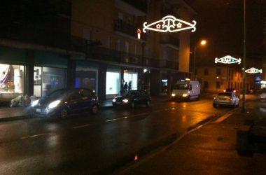 Azzano San Paolo di sera
