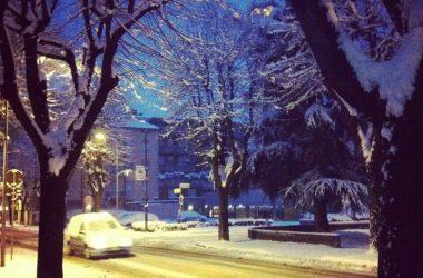Azzano San Paolo in inverno