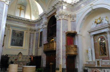 Borgo di Terzo (BG) organo Serassi 1853 Op 614, montaggio dopo il restauro