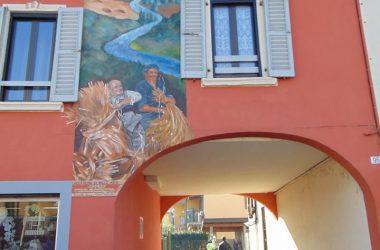 Calcio Bergamo L'iniziativa artistica Narrano i Muri
