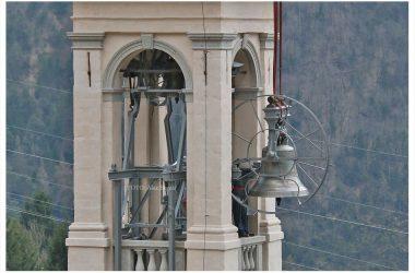 Campanile Valnegra con nuove campane