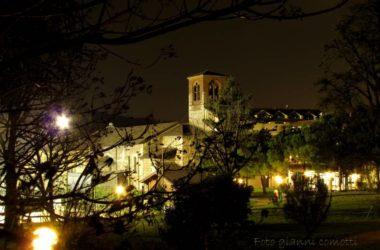 Campanile chiesa S.Nicola e area Casa di Riposo Nembro