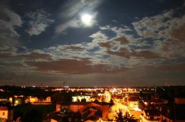 Canonica D'Adda di sera