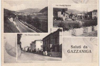 Cartolina da Gazzaniga