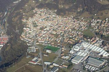 Casnigo Panorama paese