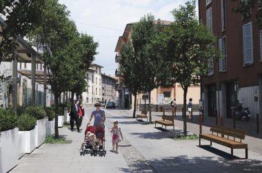 Centro Paese Via Mazzini di Albino
