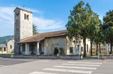 Chiesa di San Giorgio in Campis Zandobbio Bergamo
