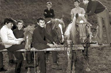 Clusone 1971 alla mostra bovina di settembre