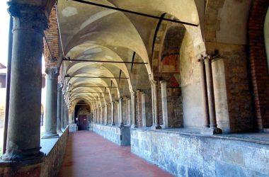 Convento di San Francesco (Bergamo) Chiostro delle Arche