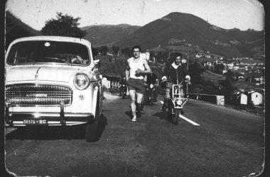 Corsa delle uova anno 1960 Gandino