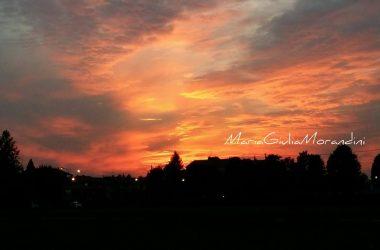 Dalmine al tramonto