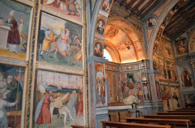 Dipinti Chiesa di San Bernardino - Lallio