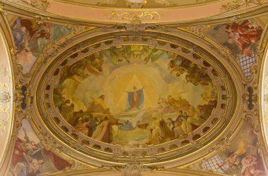 Dipinti Chiesa di San Giovanni Battista - Bagnatica