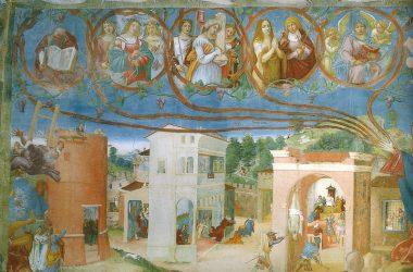 Dipinti Lorenzo Lotto Oratorio Suardi Trescore Balneario