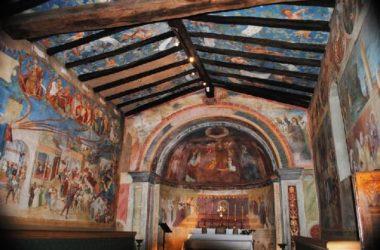 Dipinti Oratorio Suardi Trescore Balneario