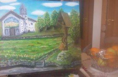 Dipinto Chiesetta di Val piana Gandino
