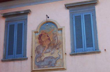 Dipinto Piazza di Treviolo