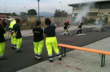 Esercitazioni in corso Azzano San Paolo