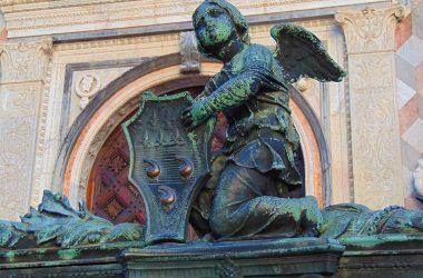 Esterno Cappella Colleoni Bergamo