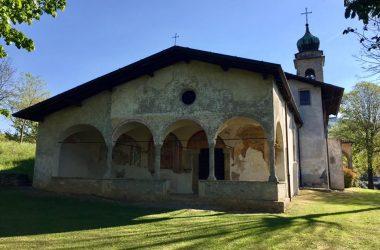 Esterno Santissima Trinità Casnigo