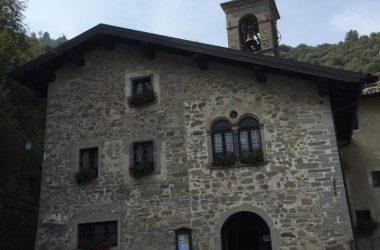 Facciata Santuario Madonna Del Perello Bergamo