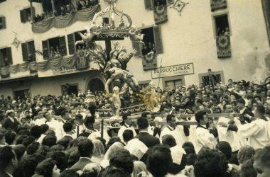 Festa della Madonnina 1959 Leffe