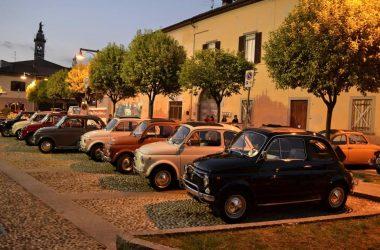 Fiat 500 a Calcinate