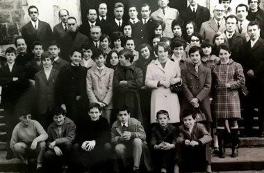 Foto Corale con Don Ponziano Gandino