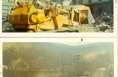 Foto Demolizione edificio piazza Leffe