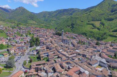 Fotografie aeree Gandino Val Seriana