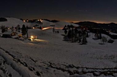 Fotografie dal Monte Farno Gandino